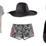 Stylizacja Black Chic z H&M
