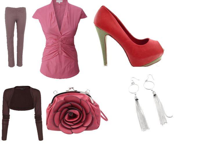 Stylizacja elegancka kobieta pracująca
