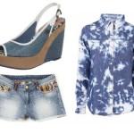 Stylizacja letnia jeansowa