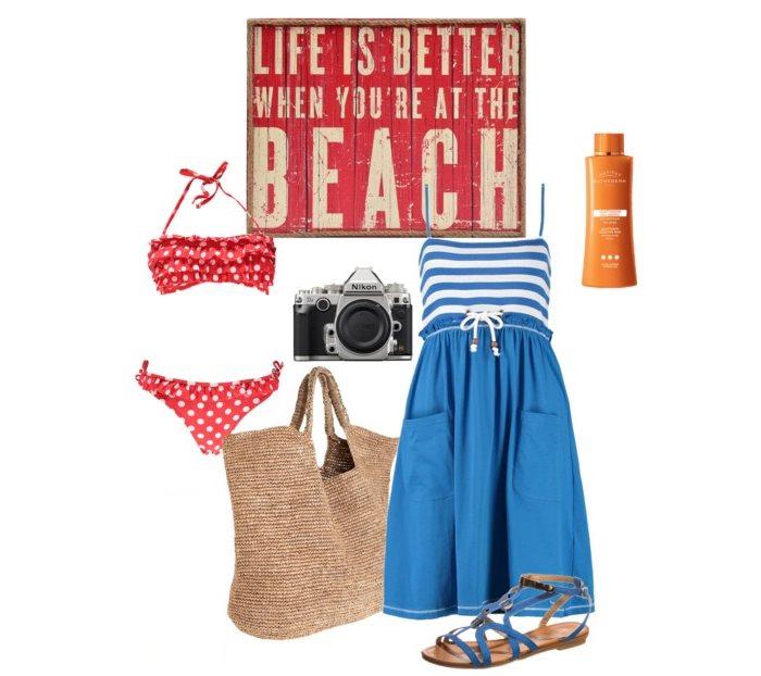 Stylizacja plażowa