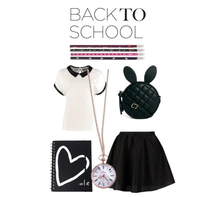 Stylizacja na pierwszy dzień szkoły
