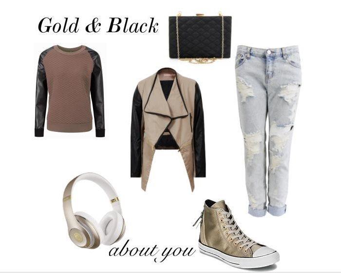 Stylizacja Gold & Black