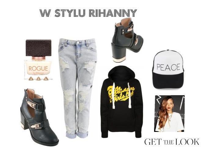 Stylizacja Rihanna