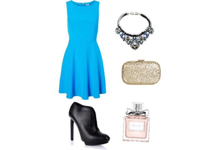 Stylizacja Blue Princess
