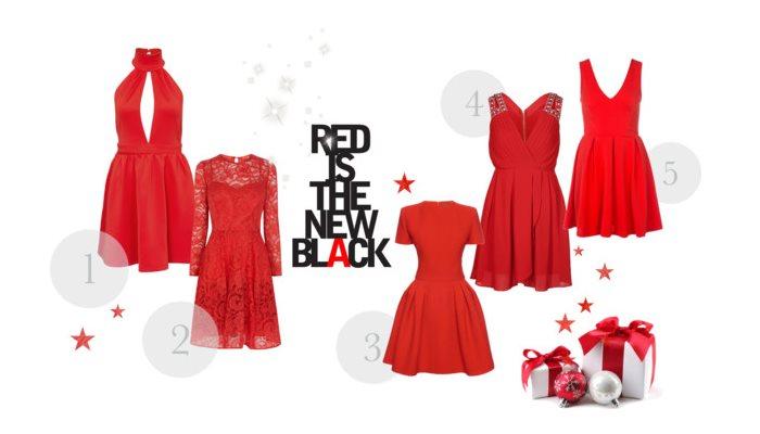 Czerwone sukienki na karnawał 2015